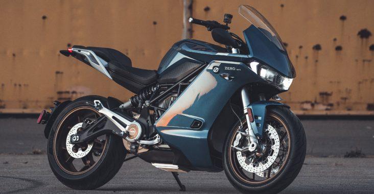 Moto électrique Zero SR/S