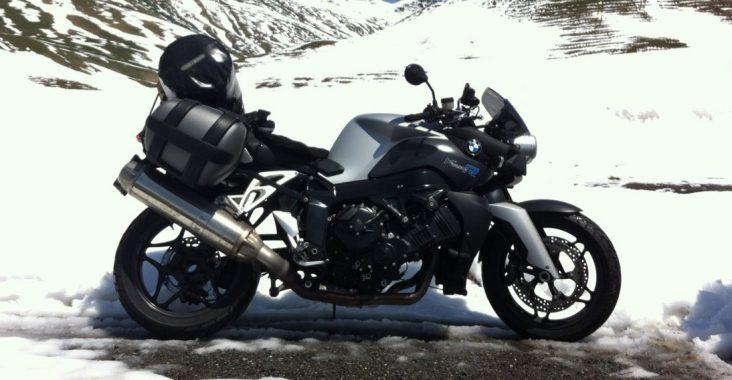 rouler à moto en hiver