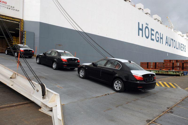 transport de voitures en bateau